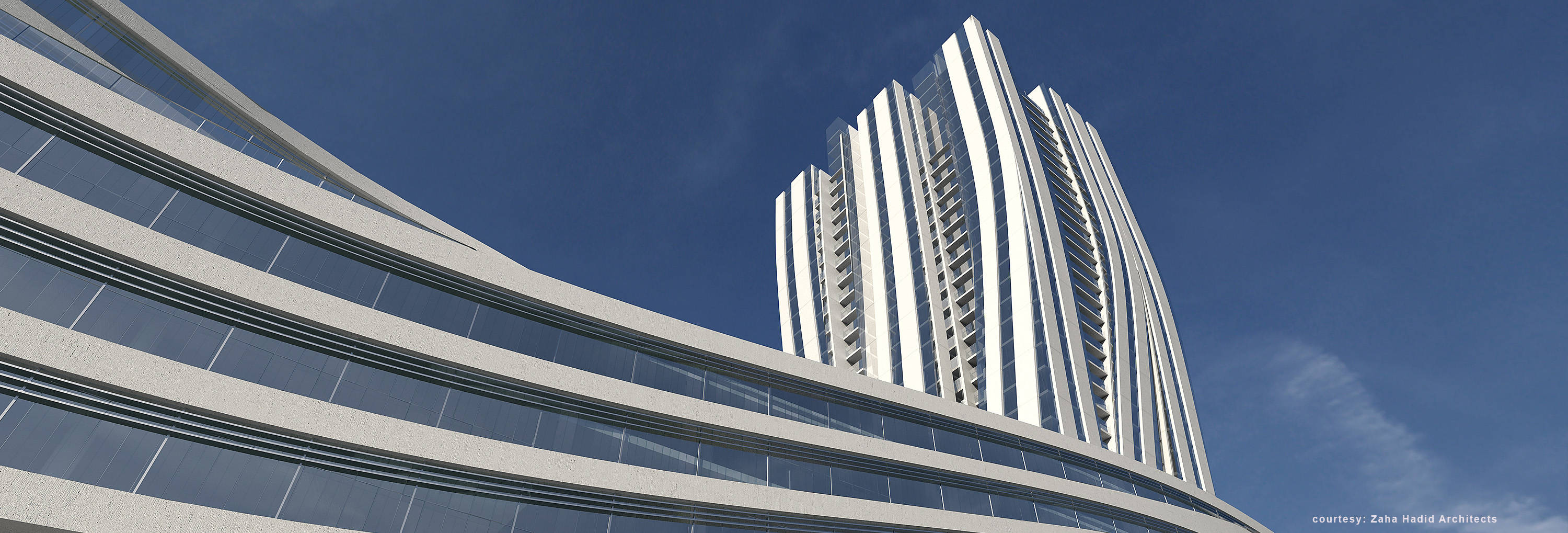 zaha hadid U2 tower